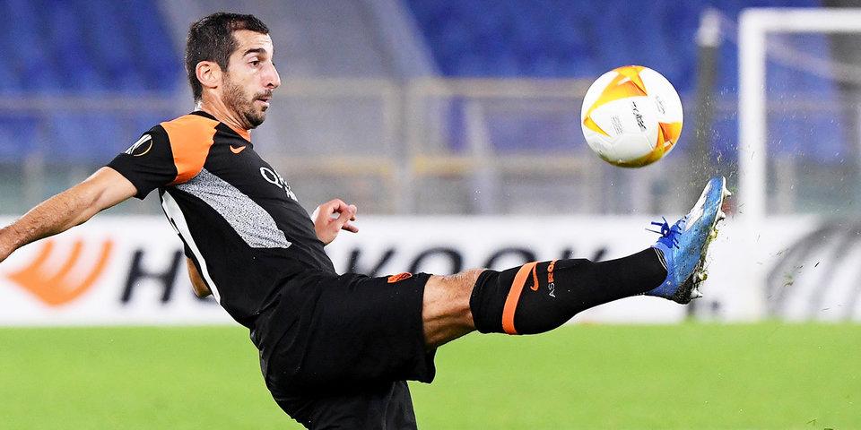 «Рома» продлит контракт с Мхитаряном до конца следующего сезона
