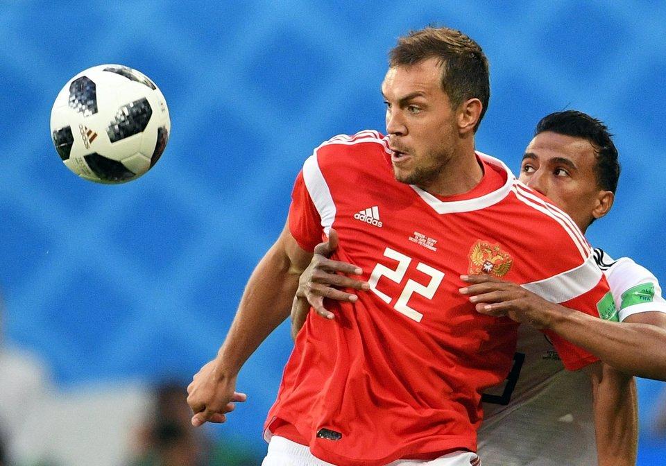 Витсель поздравил сборную России с победой над Египтом