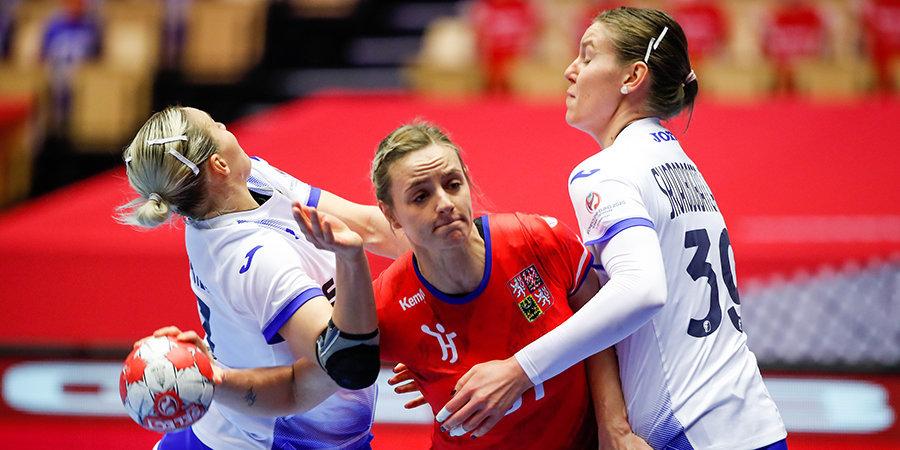 Россиянки досрочно вышли в основной раунд чемпионата Европы