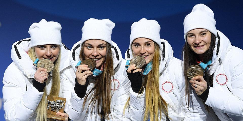 Российским лыжницам Нечаевской и Седовой сделали предложения в аэропорту после их возвращения из Кореи