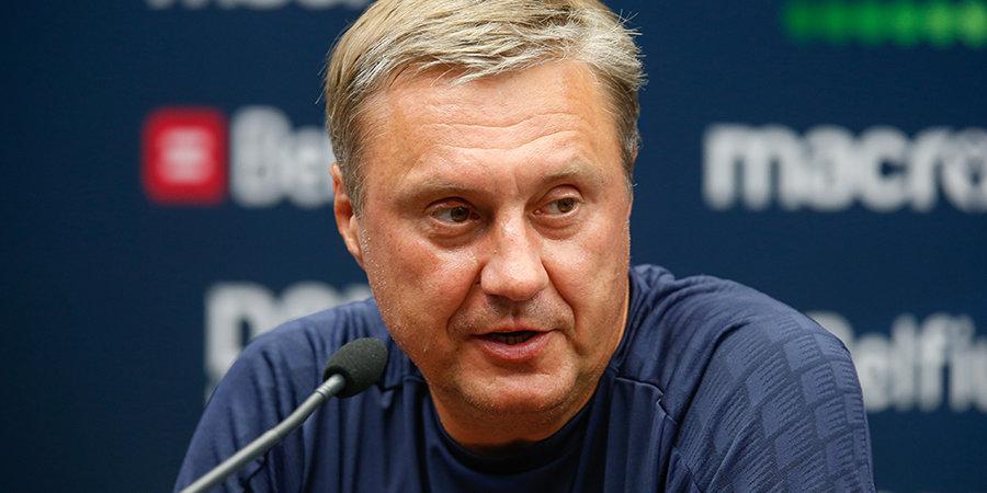 Александр Хацкевич — о 0:5 от «Краснодара»: «Принимаем этот результат, но голову пеплом не посыпаем»