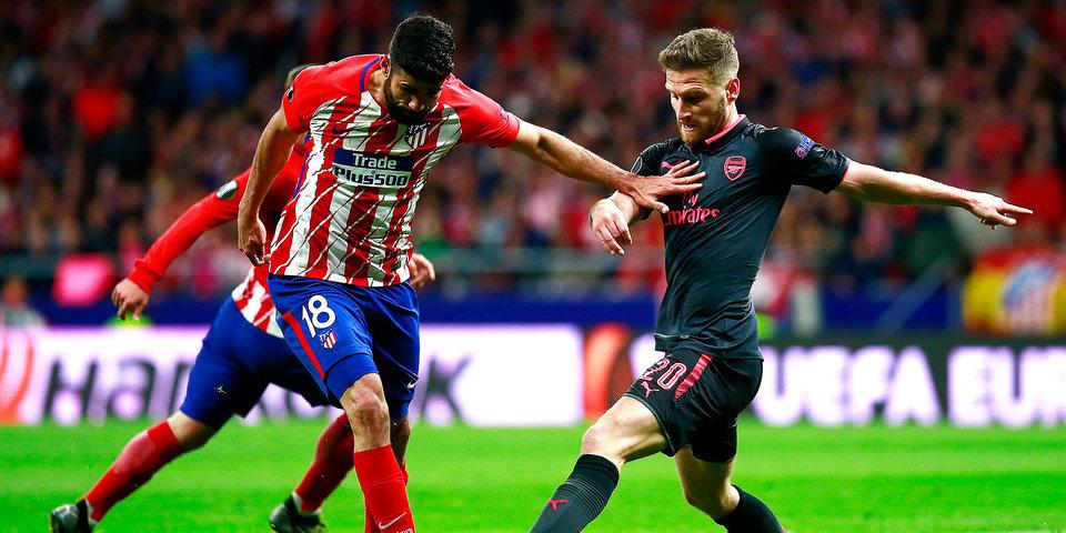 «Атлетико» оставил «Арсенал» Венгера без финала Лиги Европы