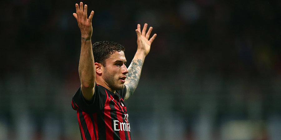 «Милан» объявил о продлении контракта с Калабрией до 2025 года