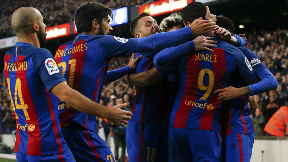 «Барселона» разгромила «Вильярреал» на «Камп Ноу»