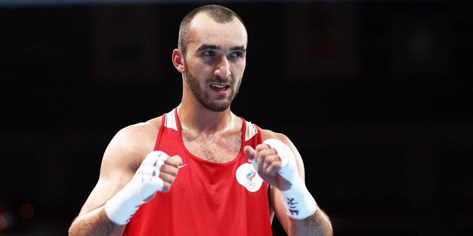 Гаджимагомедов вышел в финал Олимпиады в категории до 91 кг