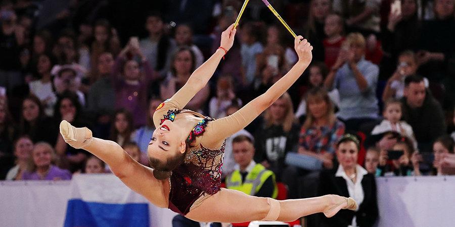 Аверина выигрывает, Солдатова награждает. Лучшие кадры Гран-при Москвы