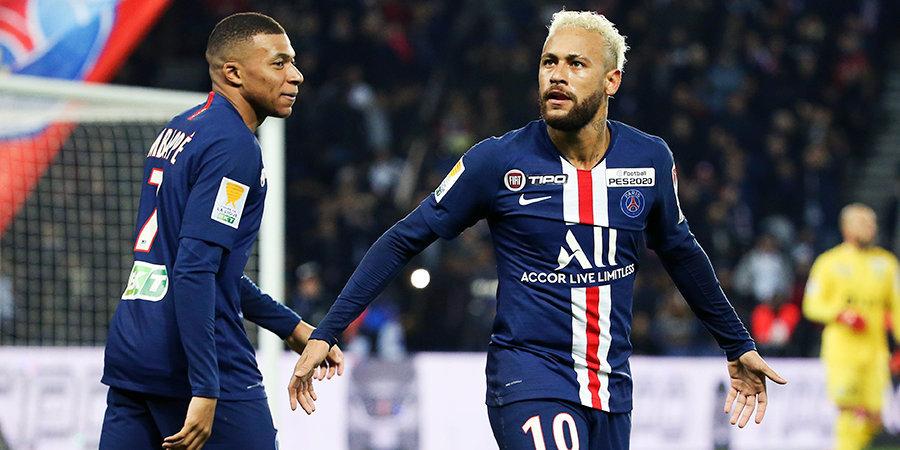 Неймар, Мбаппе и Бен-Йеддер попали в команду сезона FIFA 20 во Франции