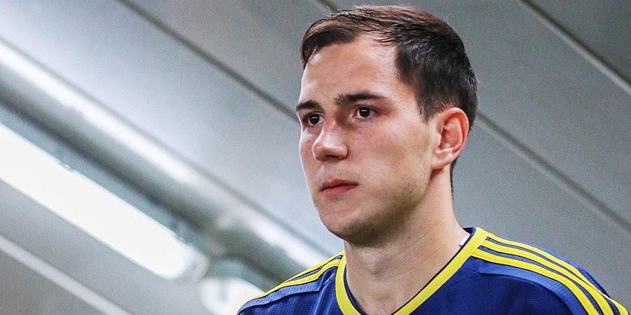 Осипенко назван лучшим игроком матча «Ростов» — «Урал»