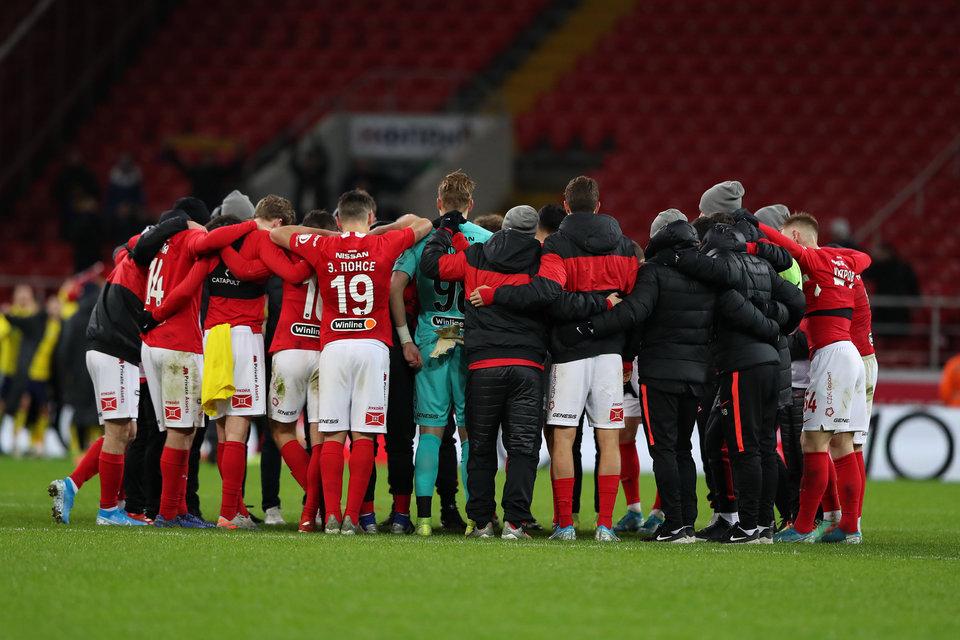 «Спартак» сделал заявление после заседания совета директоров клуба