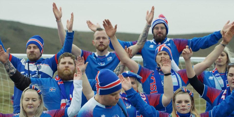 Исландцы спели «Калинку» на фоне вулканов. Очень круто