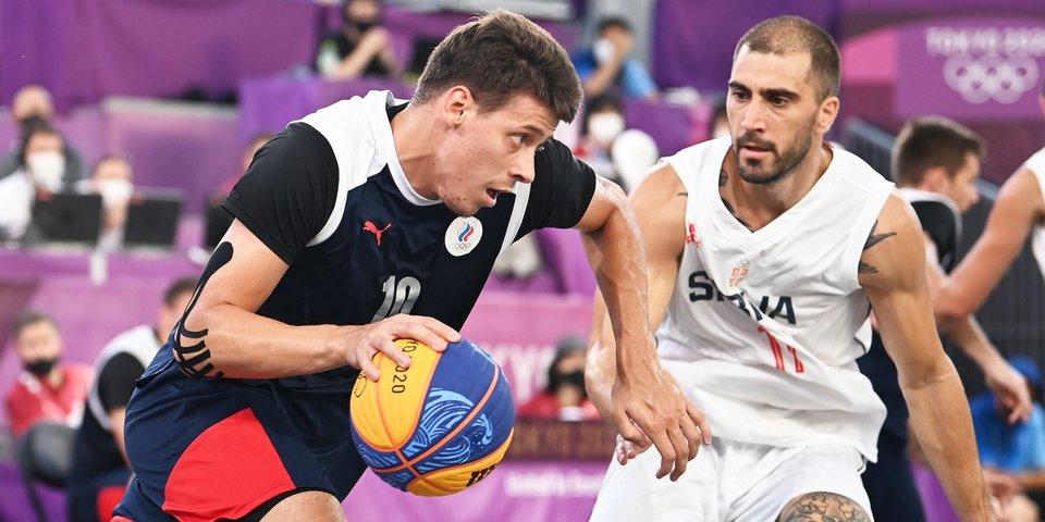«Невозможно сдержать эмоций и слез». Писклов, Шаров и Карпенков — о выходе в финал олимпийского баскетбольного турнира 3×3