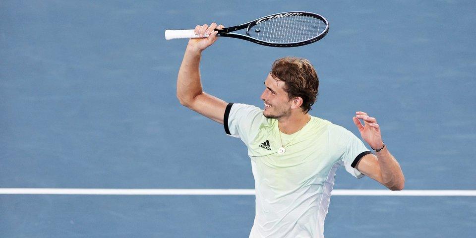 Зверев после победы над Рублевым обошел Надаля в рейтинге ATP