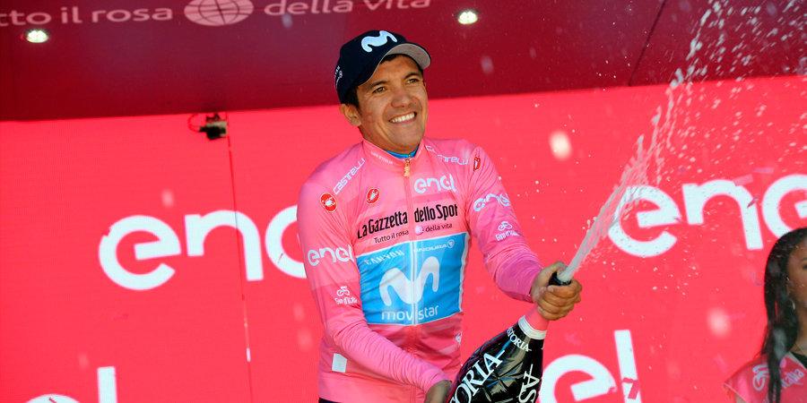 Карапас — победитель «Джиро д'Италия»