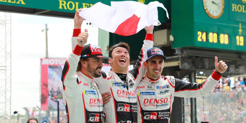 Экипаж Алонсо победил в гонке «24 часа Ле-Мана», Русинов выиграл зачет в LMP2