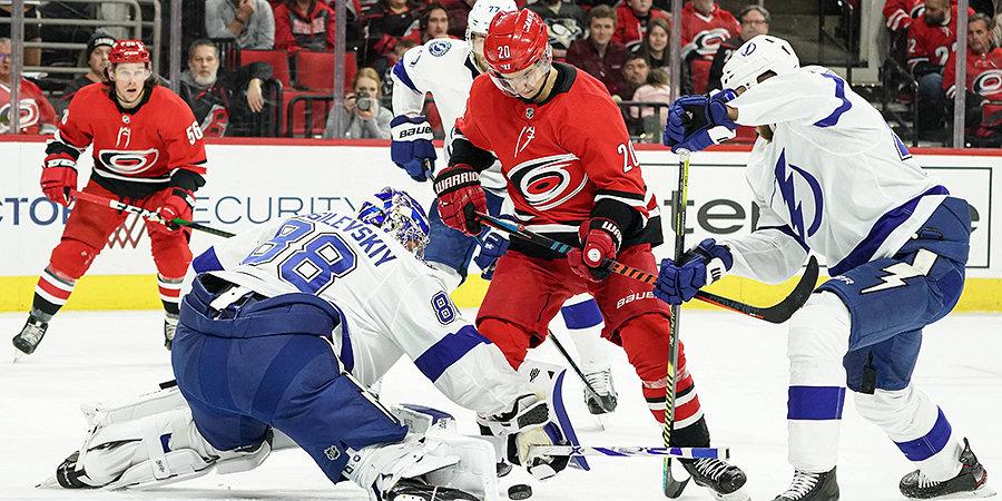 Кучеров набрал два очка, Свечников огорчил Василевского, Дадонов помог «Флориде» обыграть «Питтсбург». Обзор дня НХЛ