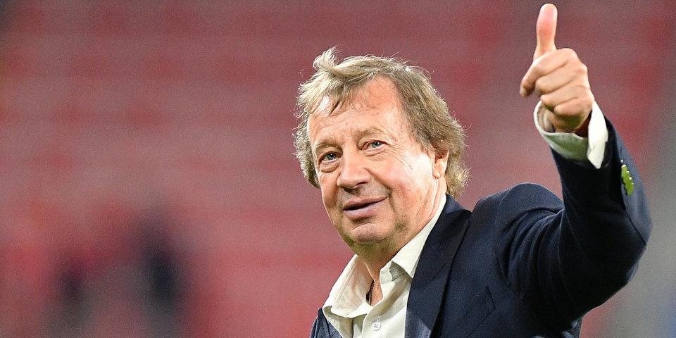 Юрий Семин: «Сыграть со «Спартаком» в Лиге Европы? Почему бы и нет»