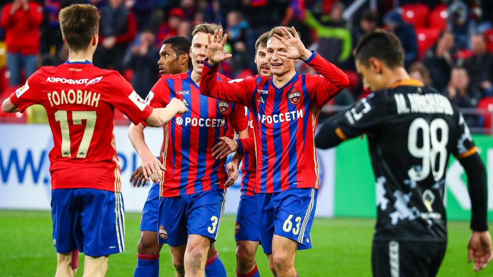 Дубль Чалова помог ЦСКА разгромить «Арсенал» и оторваться от «Зенита»