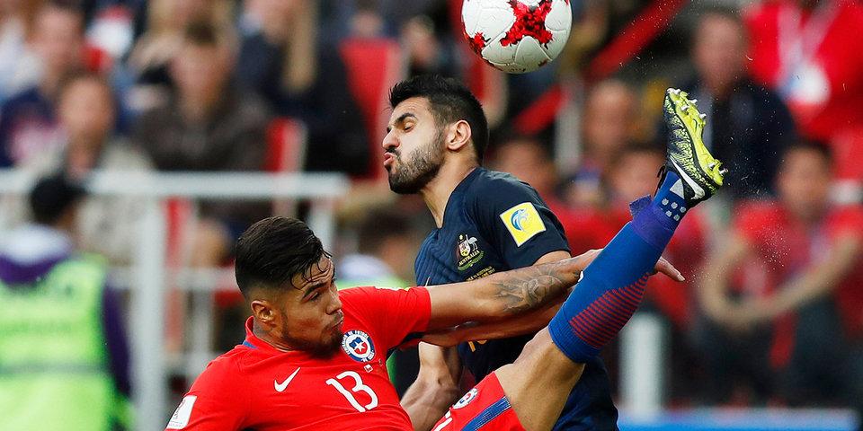 Матч Чили – Австралия, который собрал 33 тысячи зрителей