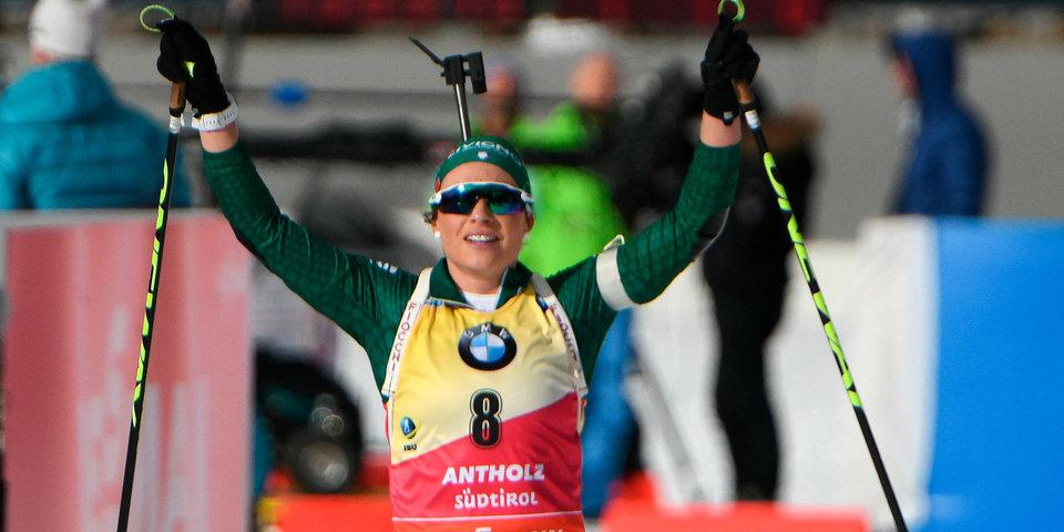 Доротея Вирер: «Я очень горда за итальянский биатлон»