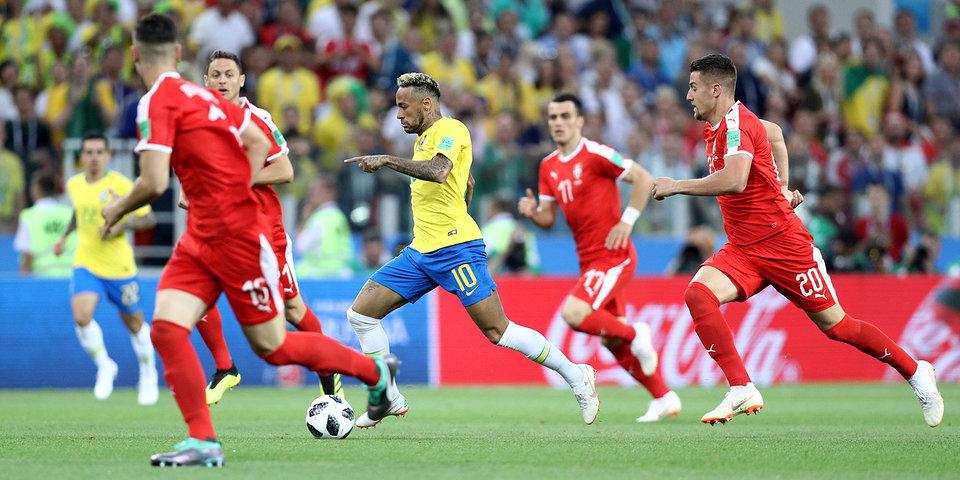 Сербия - Бразилия. Голы и лучшие моменты