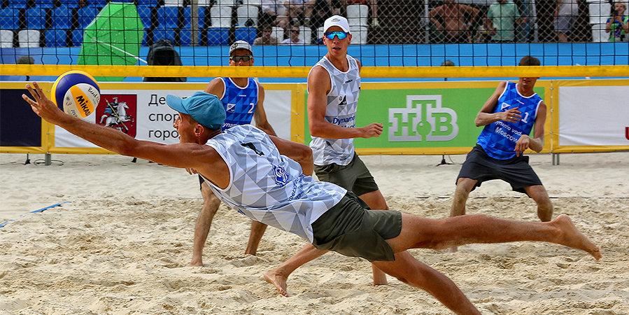 Лямин и Мыськив стали чемпионами России по пляжному волейболу