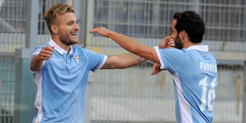 Дубль Иммобиле вывел «Лацио» на «Фиорентину» в Кубке Италии