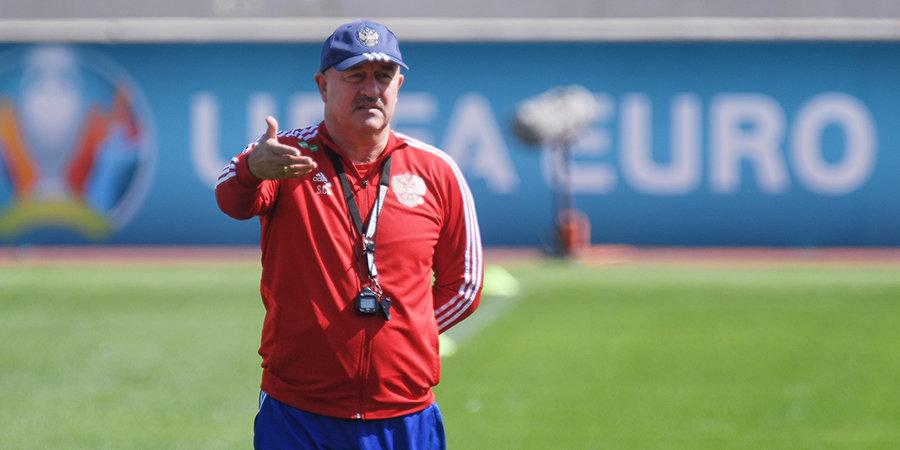 Черчесов уже определился с графиком подготовки сборной России к Евро-2020
