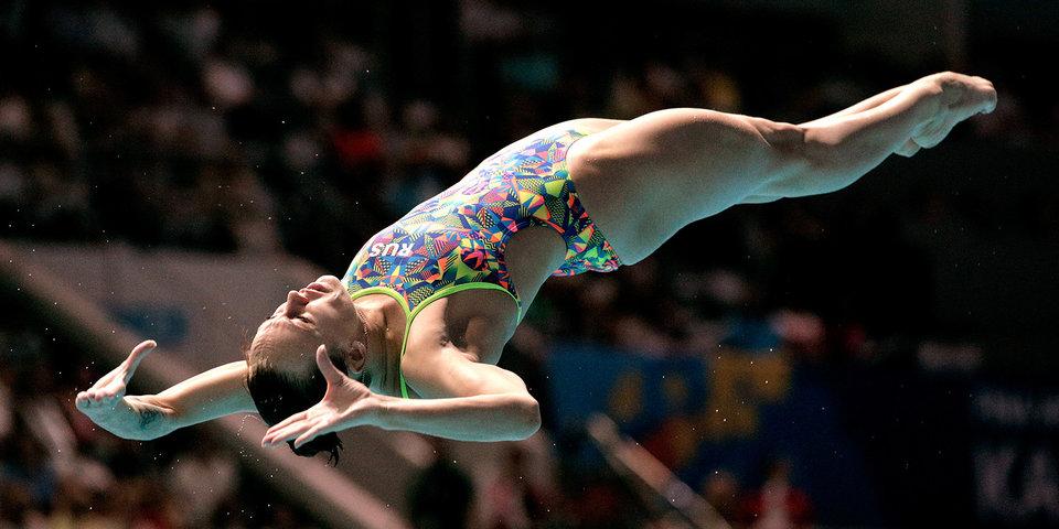 Бажина победила на чемпионате России по прыжкам в воду с 3-метрового трамплина