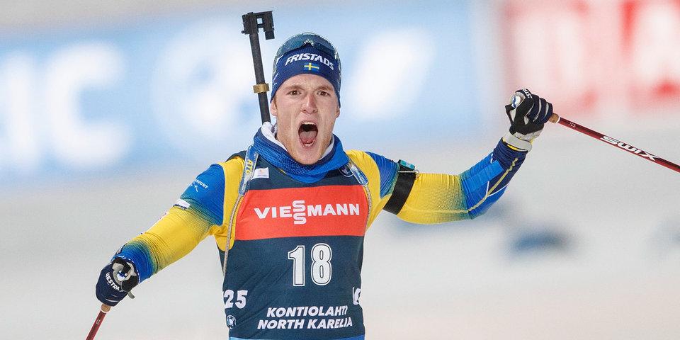 Самуэльссон показал лучший ход в спринте на Кубке мира в Эстерсунде, Латыпов — 15-й