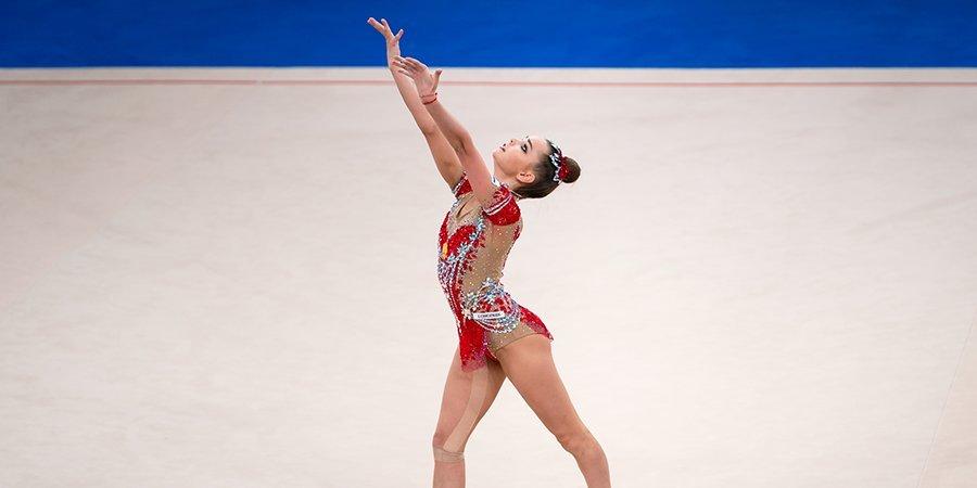 Судьи отклонили протест России на оценку Дины Авериной за упражнения с лентой, россиянка осталась с серебром ОИ в Токио