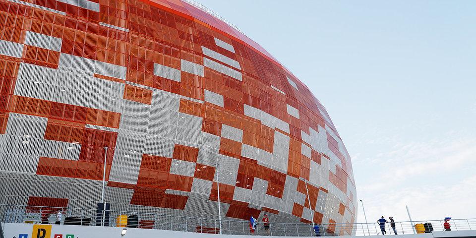 На стадионе ЧМ-2018 в Саранске провели финал чемпионата Мордовии