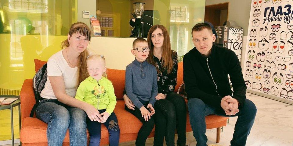 Благотворительный фонд Реброва начал сотрудничество с сетью детских офтальмологических клиник
