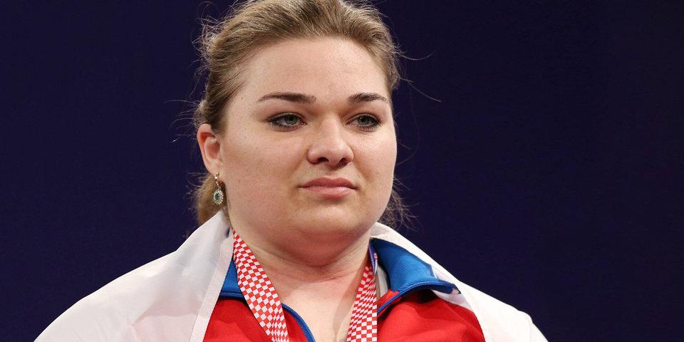 Российская штангистка Татьяна Каширина завоевала золото на чемпионате мира