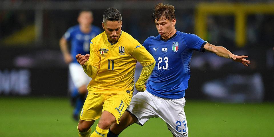 Сборные Италии и Украины не смогли выявить победителя