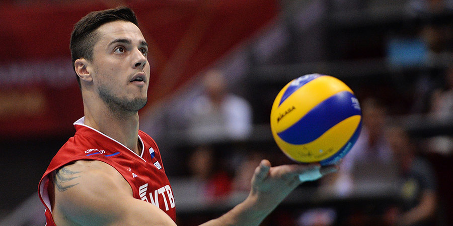 Российский волейболист Мороз был дисквалифицирован на полтора года за кокаин