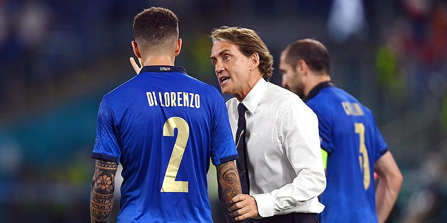 Роберто Манчини: «Сборная Италии отправляется на матч с Испанией с пониманием того, что может еще многое показать»