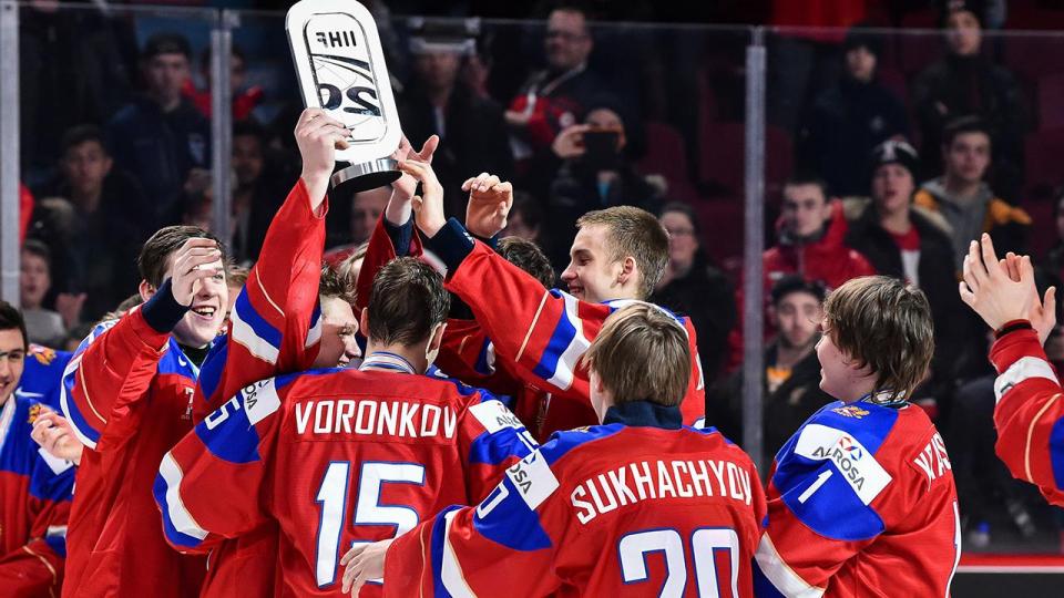 Сборная России выиграла бронзовые медали молодежного чемпионата мира