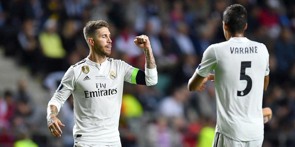 СМИ: «Реал» намерен заключить спонсорский контракт на 1,1 миллиарда
