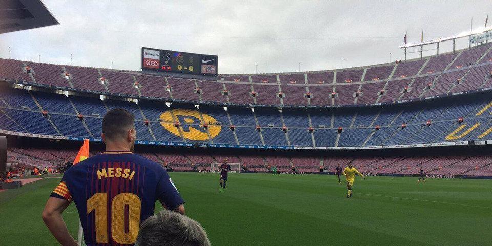 Спорт вне политки? Расскажите «Барселоне»