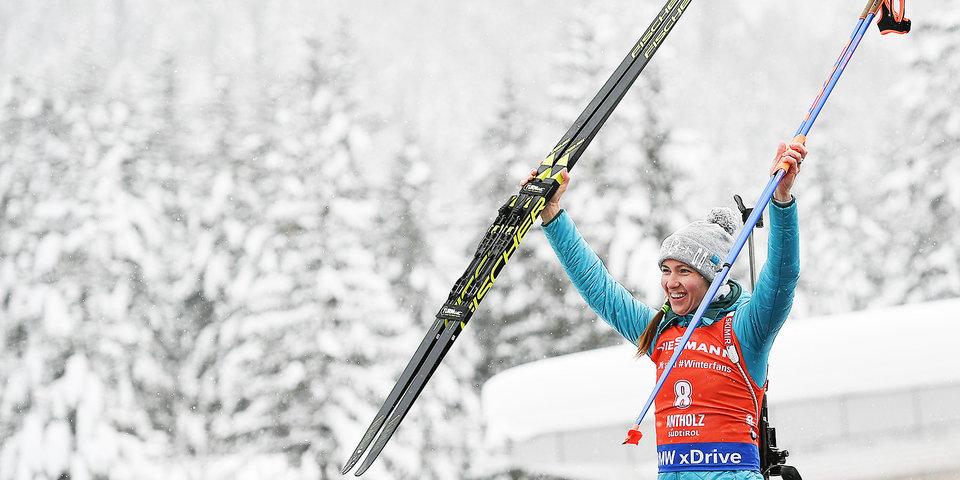 Домрачева продолжила побеждать и после Олимпиады