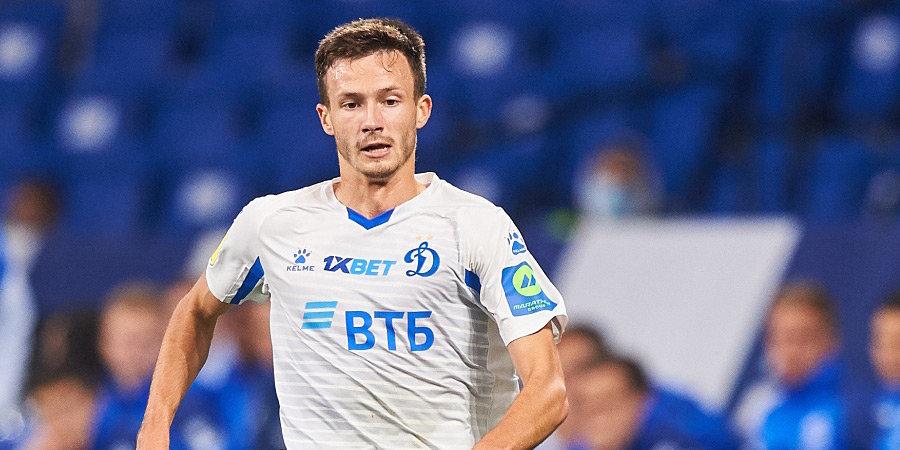 Лесовой – лучший игрок «Динамо» в ноябре