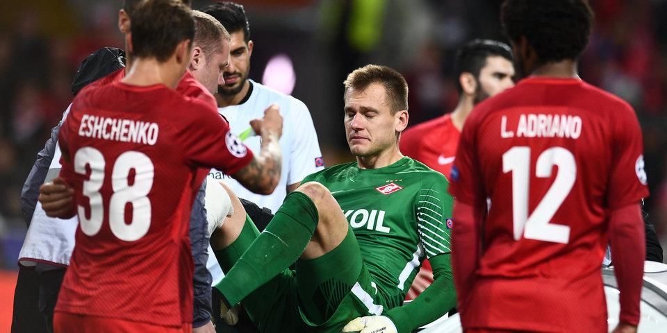 Каррера сказал, что в матче с «Ливерпулем» у «Спартака» не было травм. Как так?