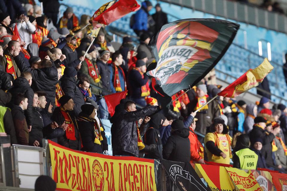 МВД займется организацией безопасности на матче «Арсенал» — «Спартак»