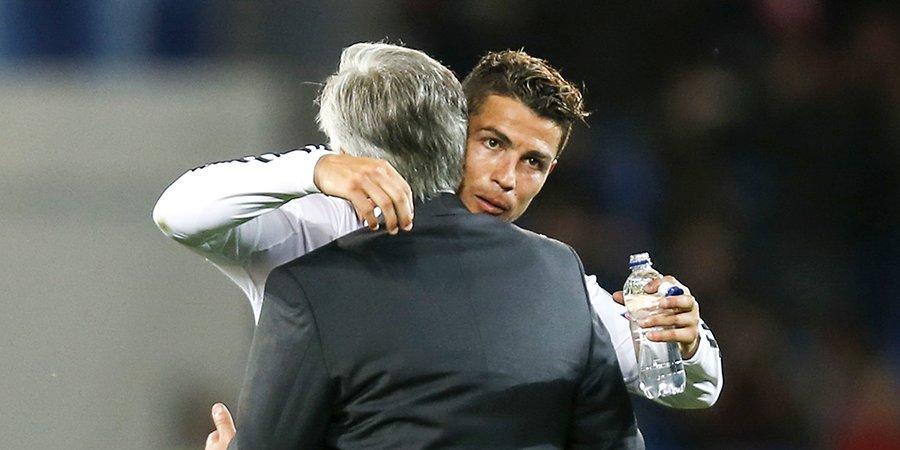 Карло Анчелотти: «Я очень люблю Роналду, но у него контракт с «Ювентусом»