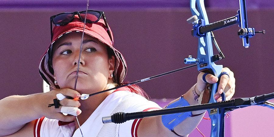Осипова прошла первый раунд квалификации Олимпиады по стрельбе из лука