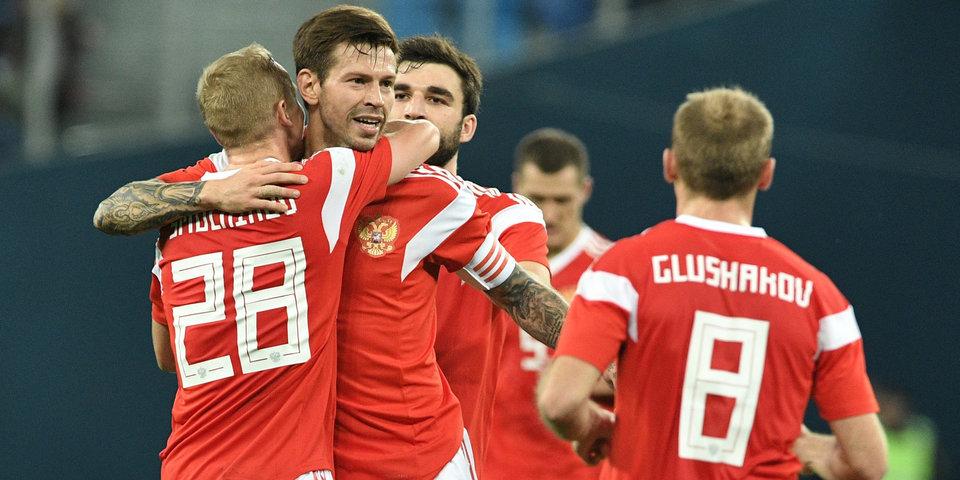 В РФС объявили, что сборная России сыграет с Турцией не на стадионе «Динамо»