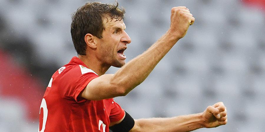 Мюллер повторил рекорд Лама по количеству матчей в Лиге чемпионов среди немецких игроков
