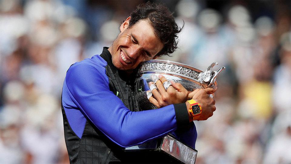 Надаль – десятикратный чемпион «Ролан Гаррос»
