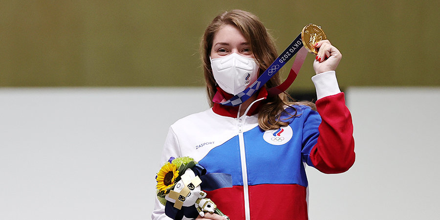 «Гордимся! Омск — город чемпионов!». «Авангард» поздравил Бацарашкину с золотом Олимпиады