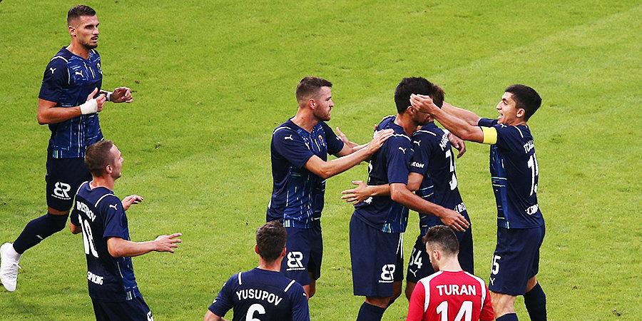 Появилось видео первого гола «Сочи» в еврокубках